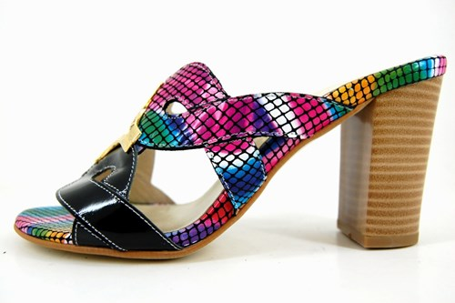 Exclusive slippers - multicolor