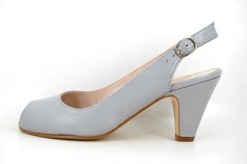Timeless open shoes - Iced Blue