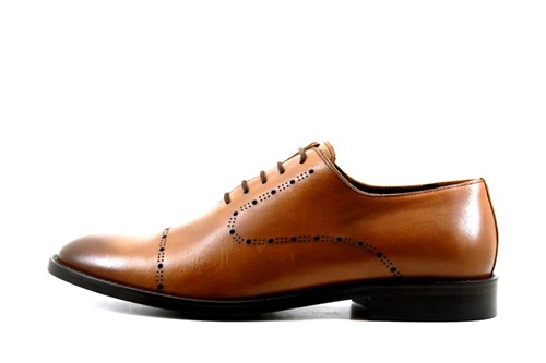 Brown Laser men's shoes