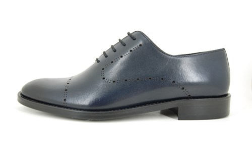 Blue laser men's shoes