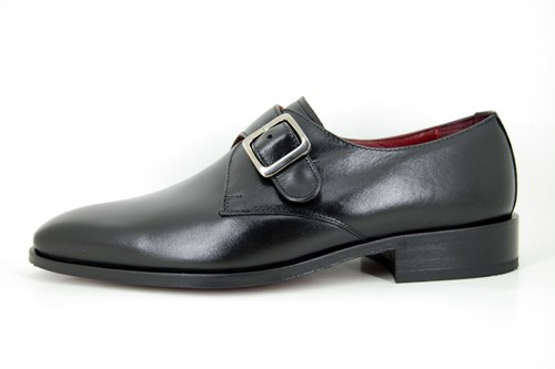 Black Monk Straps buckle