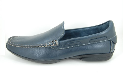 Big sizes mens loafers - blue