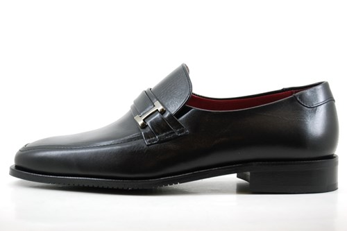 Black mens loafers