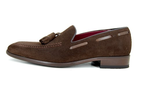 Tassel loafers - dark brown
