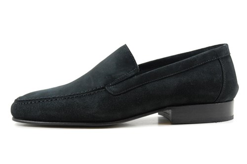Black business loafers