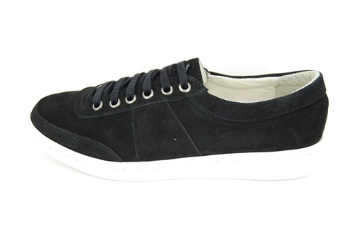 Stravers sneakers mens - black suede