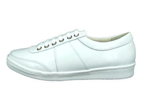 Stravers sneakers mens - white leather