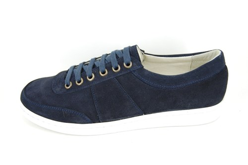 Stravers sneakers mens - blue suede