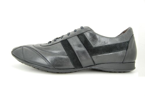 Casual mens shoes - anthracene