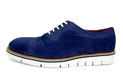 Semi casual shoes - blue