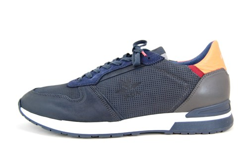 Luxury Leather Sneakers - Blue