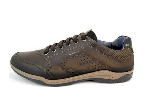 Comfortable Sneakers Men - black brown