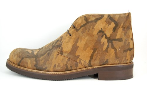 Camouflage Desert Boots
