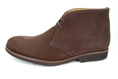 Desert boots mens - brown suede