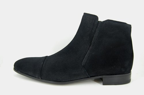 Black mens ankle boots