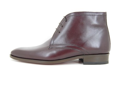 Bordeaux mens ankle boots