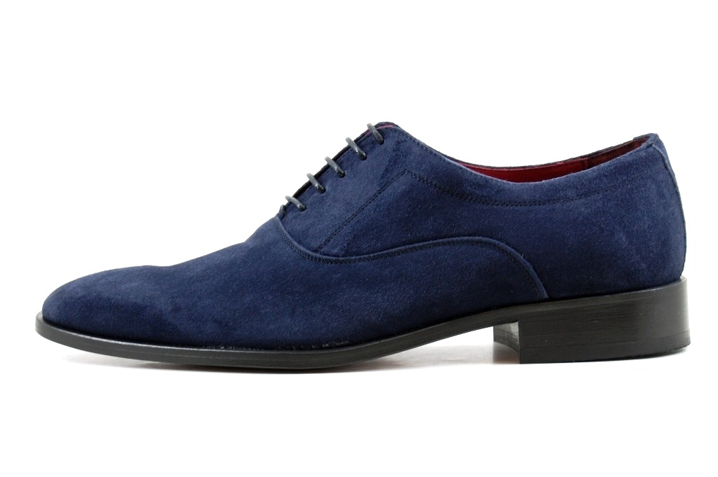Blue Suede Shoes With Black Suit